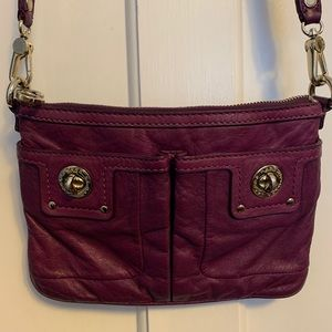 Marc Jacobs crossbody purse - purple